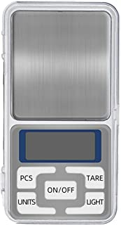 Digitale zakschaal, mini gram schaal elektronische sieradenweger, draagbare zak mini-schaal perfect voor keukenvoeding 0.0...