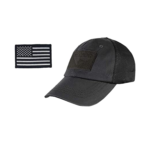 2A Tactical Gear Condor Outdoor Cap   USA Flag Patch Stitching   Excellent  Fit for Most 088c8cf41c9