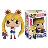 Pop Sailor Moon Series - Sailor Moon with Luna #89 Vinyl 3.75inch Animation Figure Anime Derivatives...