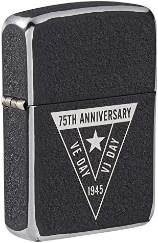 Zippo VE VJ 75th Anniversary Collectible Pocket Lighter product image