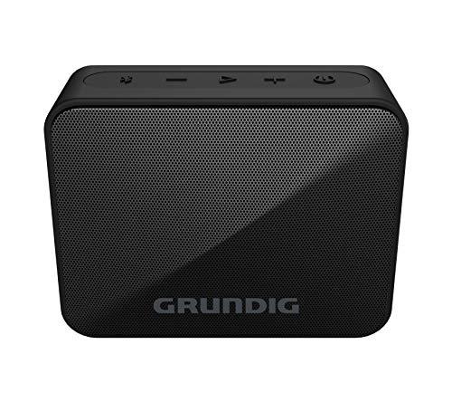 Grundig GBT Solo Black - Bluetooth Lautsprecher, 30 Meter Reichweite, mehr als 20 Std. Spielzeit
