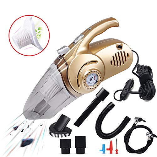 Great Price! Ergocar Car Vacuum Cleaner Car Portable Vacuum Wet & Dry Handheld Auto Vacuum Cleaner w...