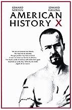 Pop Culture Graphics American History X Poster Movie B 11x17 Edward Norton Edward Furlong Fairuza Balk Beverly D'Angelo