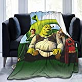 Easter Gift Funny Cartoon S-hrek Blankets Soft and Comfortable,Ultra-Soft Micro Fleece Blanket,for Bed Or Sofa,All Season Throw Blankets 50'x60' - 2