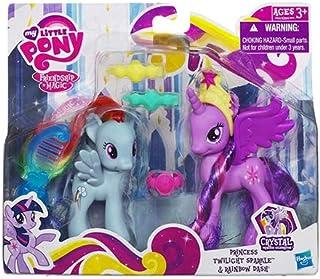 Hasbro A2004 My Little Pony Princess Twilight Sparkle and Rainbow Dash Action Figure