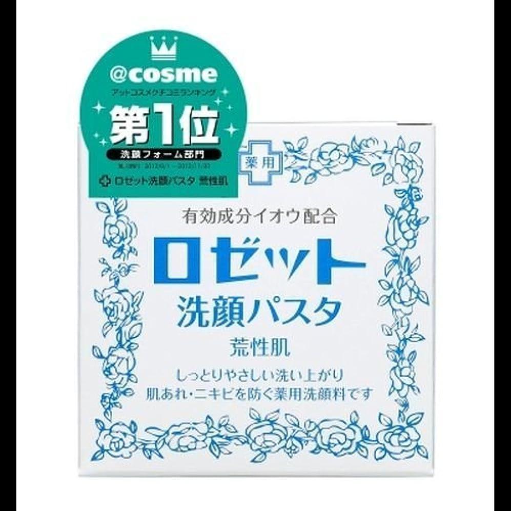 すずめのホスト正確【まとめ買い】ロゼット 洗顔パスタ 荒性90g ×2セット