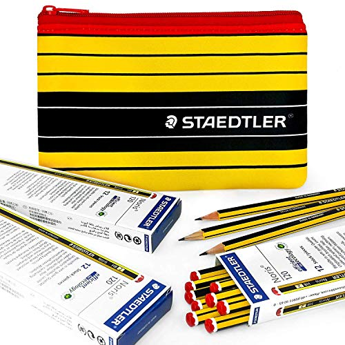 Blister Pack of 5 Staedtler Noris 120-S BK5D Pencil Assorted Grades