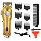 Best Cordless Barber Clippers - Kemei Professional Hair Clippers Hair Trimmer for Men Review