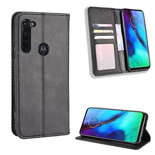 SWMGO® Flip Brieftasche Hülle Kompatibel für Motorola Moto G Pro/Motorola Moto G Stylus(Muster 1)