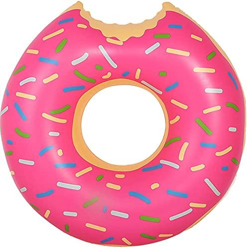 Schwimmring, Schwimmreifen, Erdbeere Donut Schwimmreifen Kinder, Schwimmnudel, Aufblasbare Pool Spielzeug, luftmatratze Kinder, Luftmatratze Pool Kinder, Schwimmringe für Wasserspielzeug