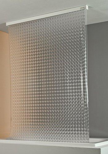 ECO-DuR  4024879002510 Kassetten Duschrollo 134 cm weiß - Kreisel
