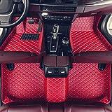 Estera del piso del coche para Usado para Custom Car Tapetes for Audi S5 - Sedan parte posterior del frente de suelo Revestimiento antideslizante cuero resistente al agua Alfombras Set, Estera del coc