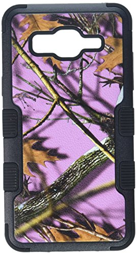 Asmyna Cell Phone Case for Samsung On5 - Camouflage Collection/Black