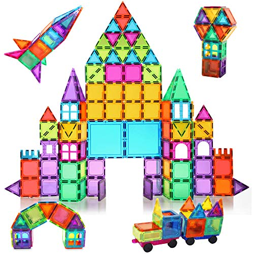 powerful BMAG 120 PCS Magnetic Building Block, 3D Magnetic Building Block, STEM Building Kit, …