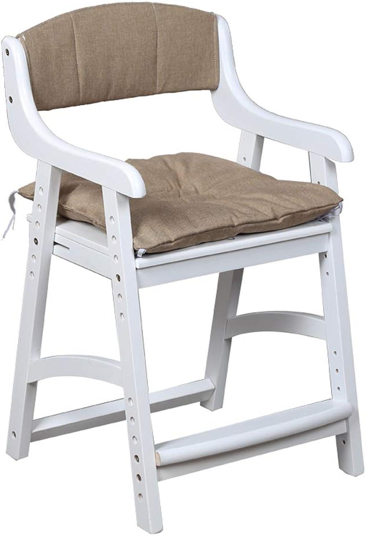 Kinder-Schreibtischstühle Kinder-Lernstuhl Esszimmerstühle Sessel Sitz, korrigierende Sitzhaltung Anti-Myopie-Buckel hhenverstellbar, aus Holz, für Zuhause Computertisch Arbeitszimmer
