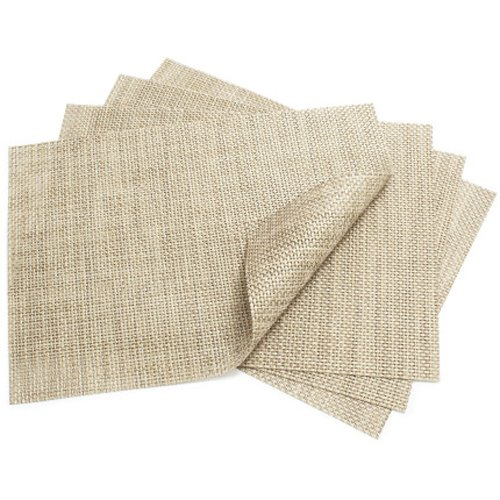 Chilewich Placemat Basketweave Rectangle - Latte