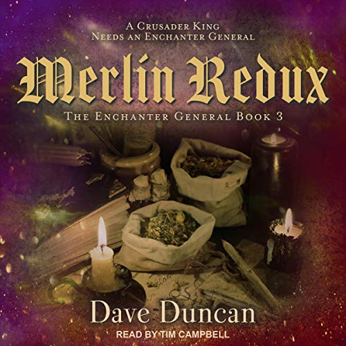 Merlin Redux audiobook cover art