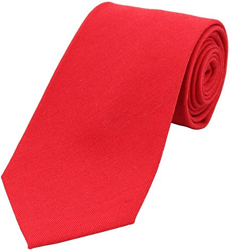 David Van Hagen Plaine Rouge Laine cravate Rich de