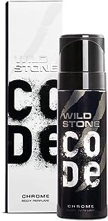 Wild Stone Code Chrome Body Perfume Spray for Men, 120ml