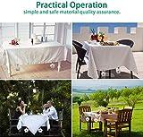HIQE-FL 8 pcs Tischdeckengewichte,Tischtuchklammern für Draußen,Stahlclips,Tischtuchhalter Garten,Edelstahl Tischtuchklammer,Tischdeckenbeschwerer,Tischdecke Gewichte - 7