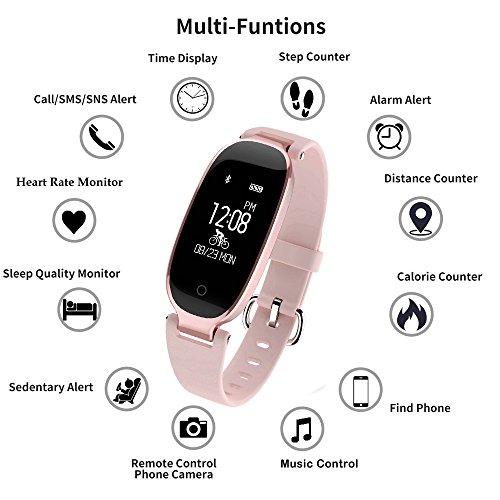 Bracelet Moniteur Flenco Rythme Cardiaque Sport Sommeil Activité Physique - 1