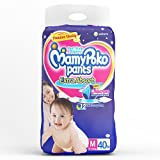 MamyPoko Pants Extra Absorb Diapers, Medium (Pack of 40)