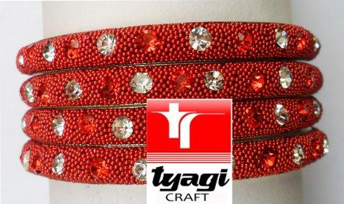 Indian Bollywood Bridal Fancy Asian Bangles Jewellery Bangles Bracelet Kada Size 2.4 Tyagi Craft