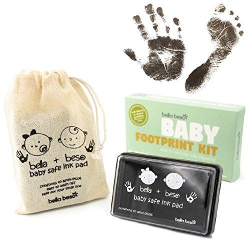 Kit de impresión de huellas de mano y pies de Beb