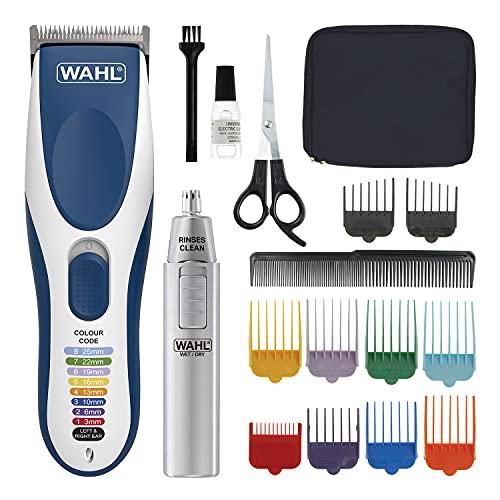 Wahl Cortapelos para hombres, Colour Pro sin cable, afeitadora de cabeza para...