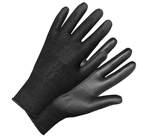 ROSTAING BLACKPRO/IT08 Gants fins résistant à la coupure, respirant, Noir, 08 pouces