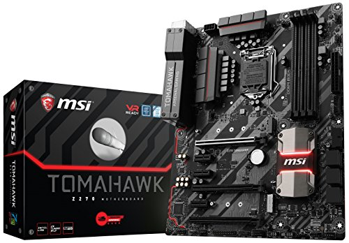 MSI Arsenal Gaming Intel Z270 DDR4 HDMI USB 3 CrossFire ATX Motherboard (Z270 TOMAHAWK)