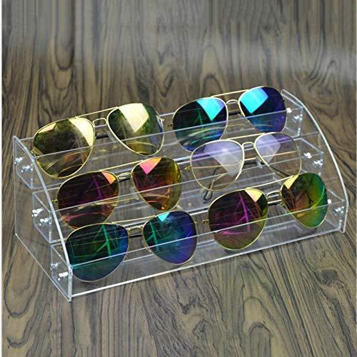 MUY Gut verpackte Nagellack Rack Brillenhalter Box Stand Case Lippenstift Organizer Aufbewahrungsbox Acryl Für Nageldisplay
