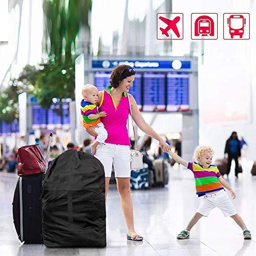 ZWOOS Borse da Trasporto per Passeggini, Borsa da Viaggio Per Passeggino, Impermeabile Durevole, per Aereo, Auto, Viaggio