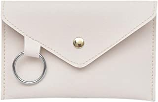 Wultia - 2019 Hot Sale Fashion Women Pure Color Ring Leather Messenger Shoulder Bag Chest fenny Bag Hight Quality #T08 White