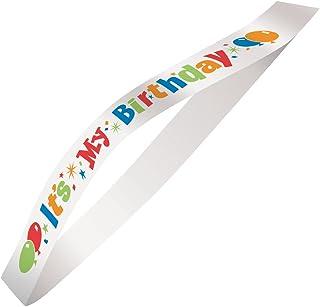 Unique Party 69026 - Satin It's My Birthday Sash