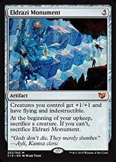 Magic: the Gathering - Eldrazi Monument (253/342) - Commander 2015