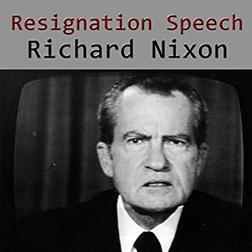 Resignation Speech