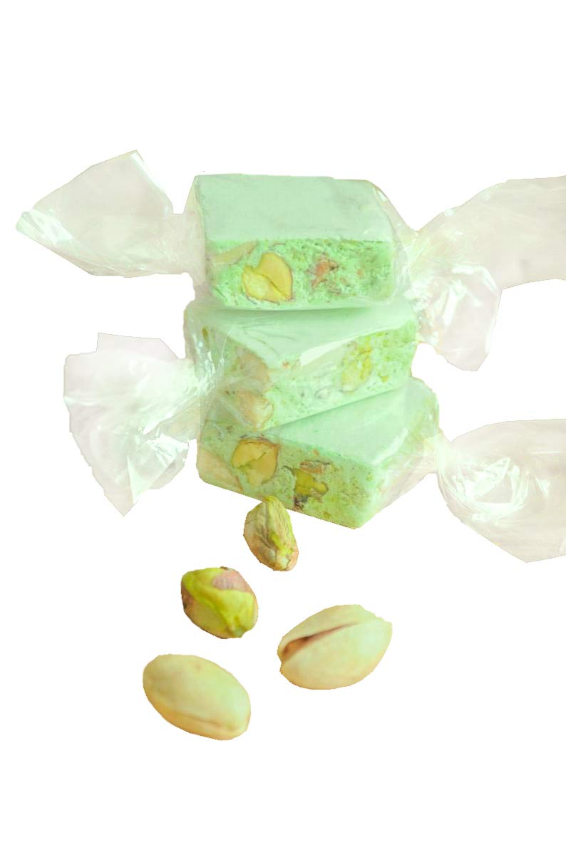 New Orleans Direct store Mall Pistachio Nougat - Italian French Free Gluten Sn Candy Healthy