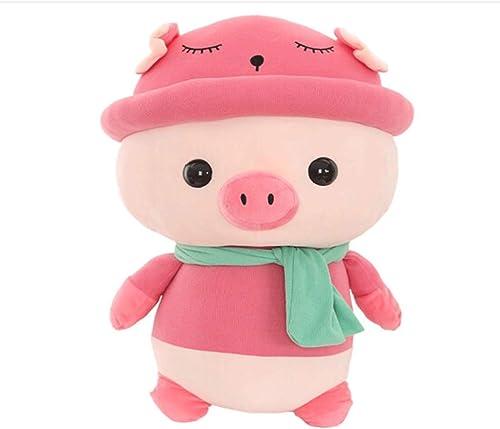 SHENGSHIHUIZHONG Peluches, cochons en peluche mignons, oreillers de poupée, cadeaux d'anniversaire   cadeaux de festival, mascottes d'année cochon, cadeaux annuels, plusieurs couleurs et tailles, haut