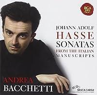 Johann Adolf Hasse-Piano Sonatas by ANDREA BACCHETTI