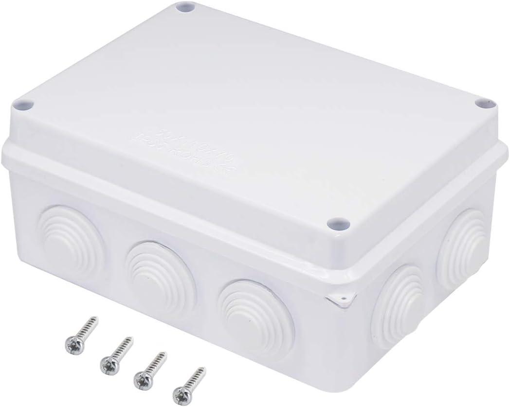 Zulkit Junction Box ABS Plastic Dustproof Waterproof IP65 Univer