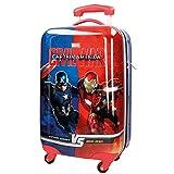Marvel Versus Equipaje Infantil, 53 litros, Color Azul
