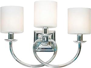 Design House 579466 Mila 3 Polished Chrome Vanity Light
