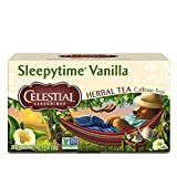 Celestial Seasonings Herbal Tea, Sleepytime Vanilla, 20 Count (Pack of 6) - Packaging May vary(