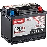 Accurat Impulse 20Ah 12V LiFePO4 Starterbatterie L2 Lithium Auto-Batterie für Start-Stop I20L2 LFP
