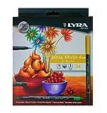 Fila Lyra Aqua Brush Duo Pennello Pittore, pennarelli, Colori Assortiti, 36 Fasermaler, 36...