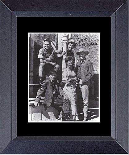 Gatsbe Exchange Gunsmoke Cast Photo with Burt Reynolds Framed Print 14 x 17