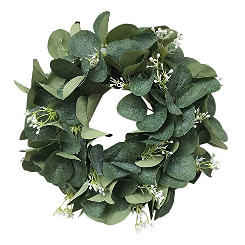 Janly Clearance Sale Simulation garland door decoration pendant grass ring decorative door knocker , Decoration & Hangs forHome & Garden , Easter St Patrick's Day Deal