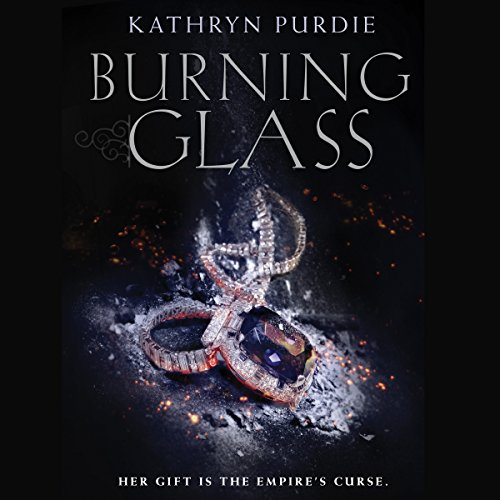 Burning Glass audiobook cover art