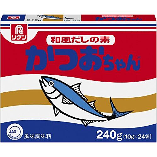 理研ビタミン リケン 和風だしの素かつおちゃん 風味調味料 箱 24コ入り 240g